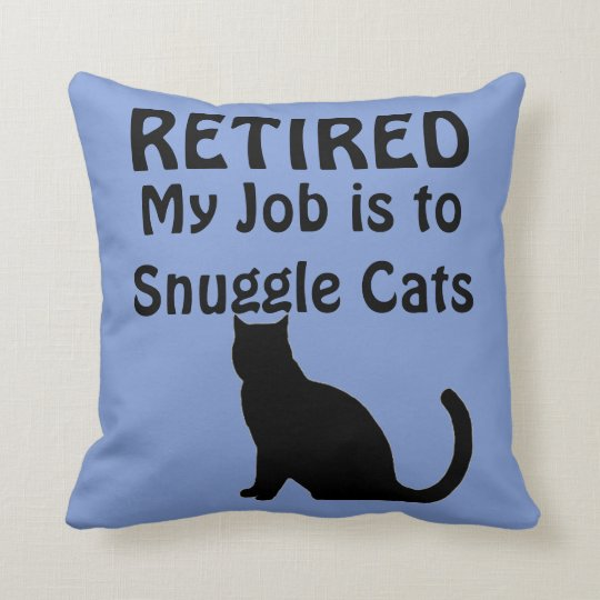 funny retirement cat lover