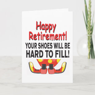 office humor retirement cards