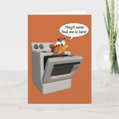 Funny Thanksgiving card