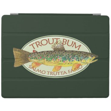 Funny Trout Bum Fishing iPad Smart Cover