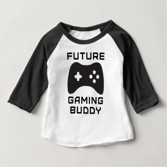 Future Gaming Buddy Baby T-Shirt
