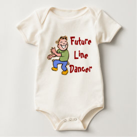 Future Line Dancer! - Baby Boy Baby Bodysuit