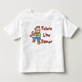 Future Line Dancer! - Baby Boy Toddler T-shirt