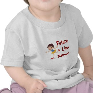 Future Line Dancer! Baby Girl Shirt