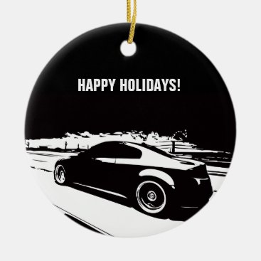 G35 Coupe Christmas Ornament