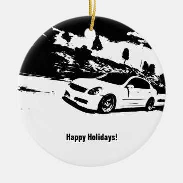 G35 Sedan Christmas Ornament