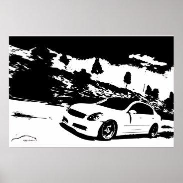 G35 Sedan Side shot Poster