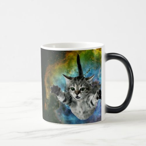 Galaxy Cat Universe Kitten Launch Magic Mug