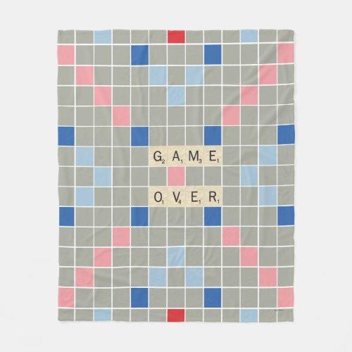 Game Over Fleece Blanket