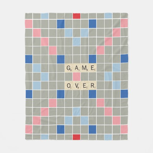 Game Over Fleece Blanket