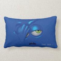 Game Over Smiley Emoticon Face Pillow | Zazzle