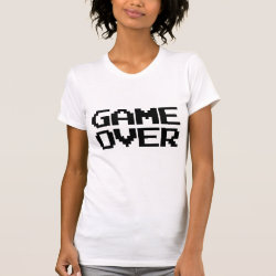 Game Over T Shirts