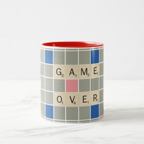 Game Over Two-Tone Coffee Mug
