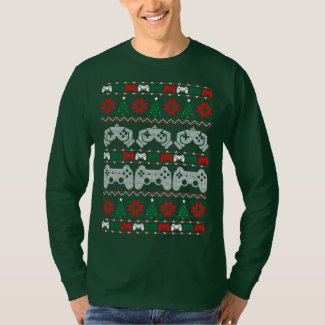 Gamer Ugly Christmas Sweater Xmas