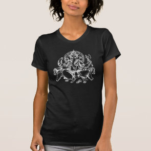 Ganesh detail White T-shirts