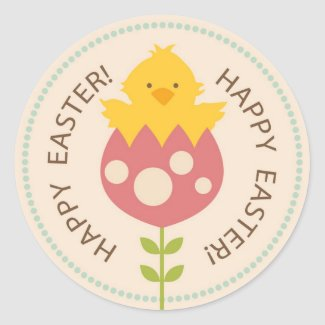 Garden Chick Sticker R2