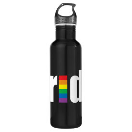 Gay Pride Liberty Bottle