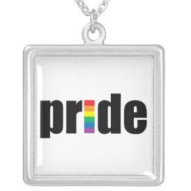 Gay Pride Necklace