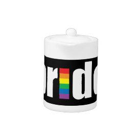 Gay Pride Teapot