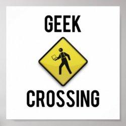 Geek Crossing Poster