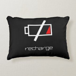 Geek Recharge Nap Pillow for Spoonies Accent Pillow