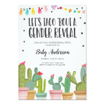 Gender Reveal Fiesta Invitation Baby Shower