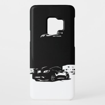 Genesis Coupe rear stance Case-Mate Samsung Galaxy S9 Case