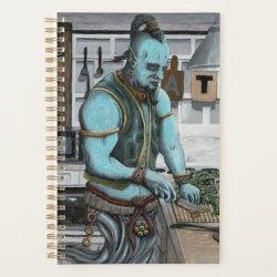 Genie Cooking Kitchen Magic Fantasy Art Planner Zazzle com