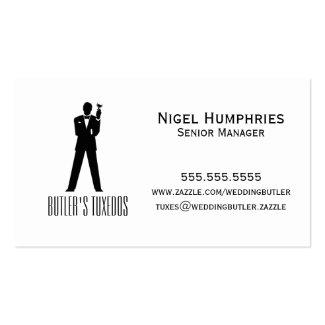 Gentleman Top Hat Retail Business Card
