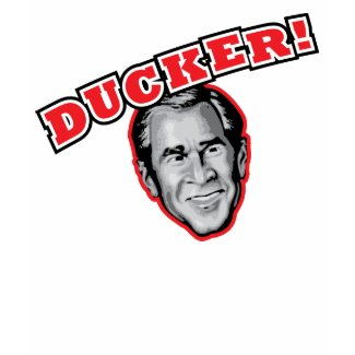 George Bush Is A Ducker - Reporter Shoe Attack! shirt