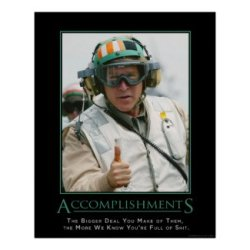Accomplishments Demotivational Poster