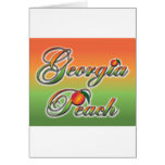 Georgia Peach - Cursive cards