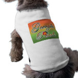 Georgia Peach - Cursive pet clothing