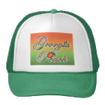 Georgia Peach - Cursive hats