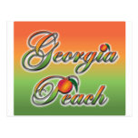Georgia Peach - Cursive postcards