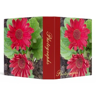 Gerbera Daisies Photo Binder binder