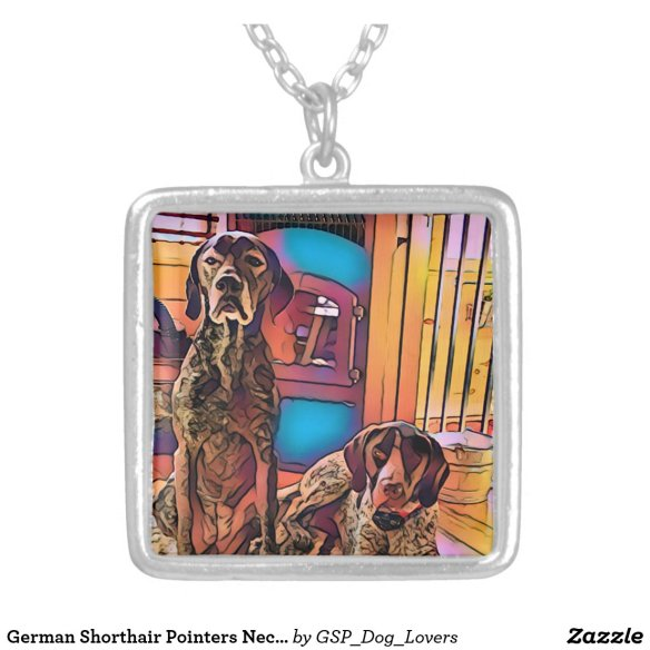 German Shorthair Pointers Necklace I