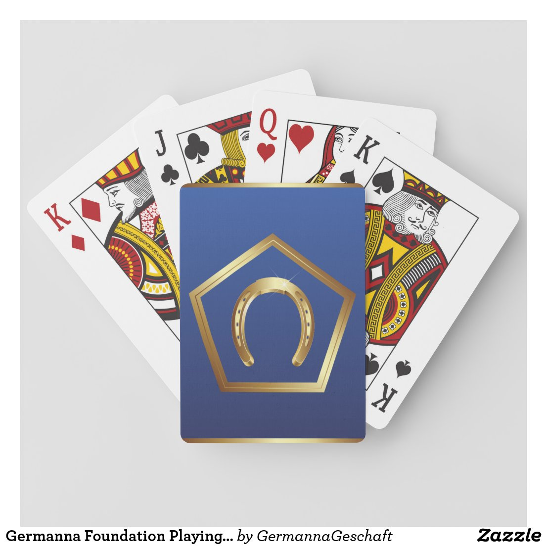 Germanna Foundation Playing Cards Set 4
