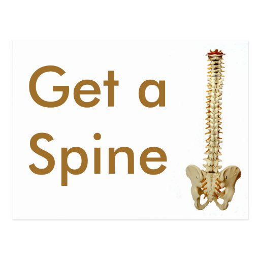 Get a Spine Postcards
