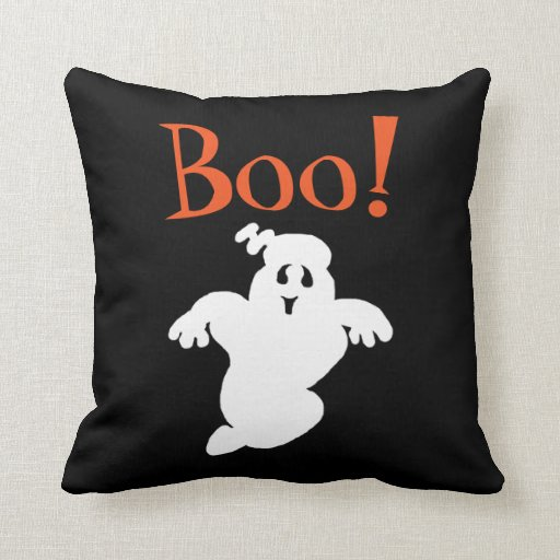 Ghost Boo Pillow  Zazzle
