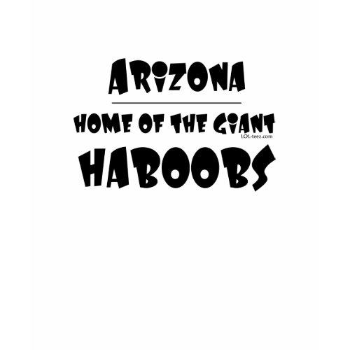 Giant Haboobs shirt