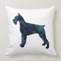 Giant Schnauzer Pillows - Decorative & Throw Pillows | Zazzle