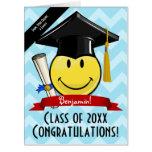 ❤️ Giant Smile Graduation Congratulations Card