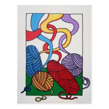 Gift of Wool by Piliero Postcard