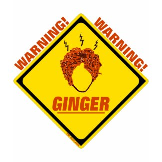 Ginger Alert! shirt