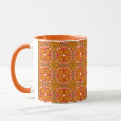 Gingerbread Houses, Cookies, Apple Cider Abstract Mug