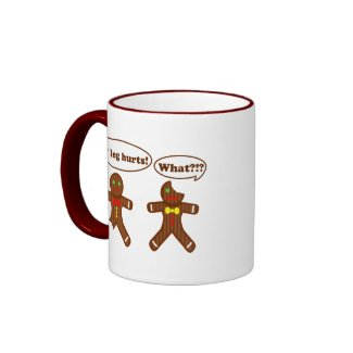 Gingerbread Humor mug