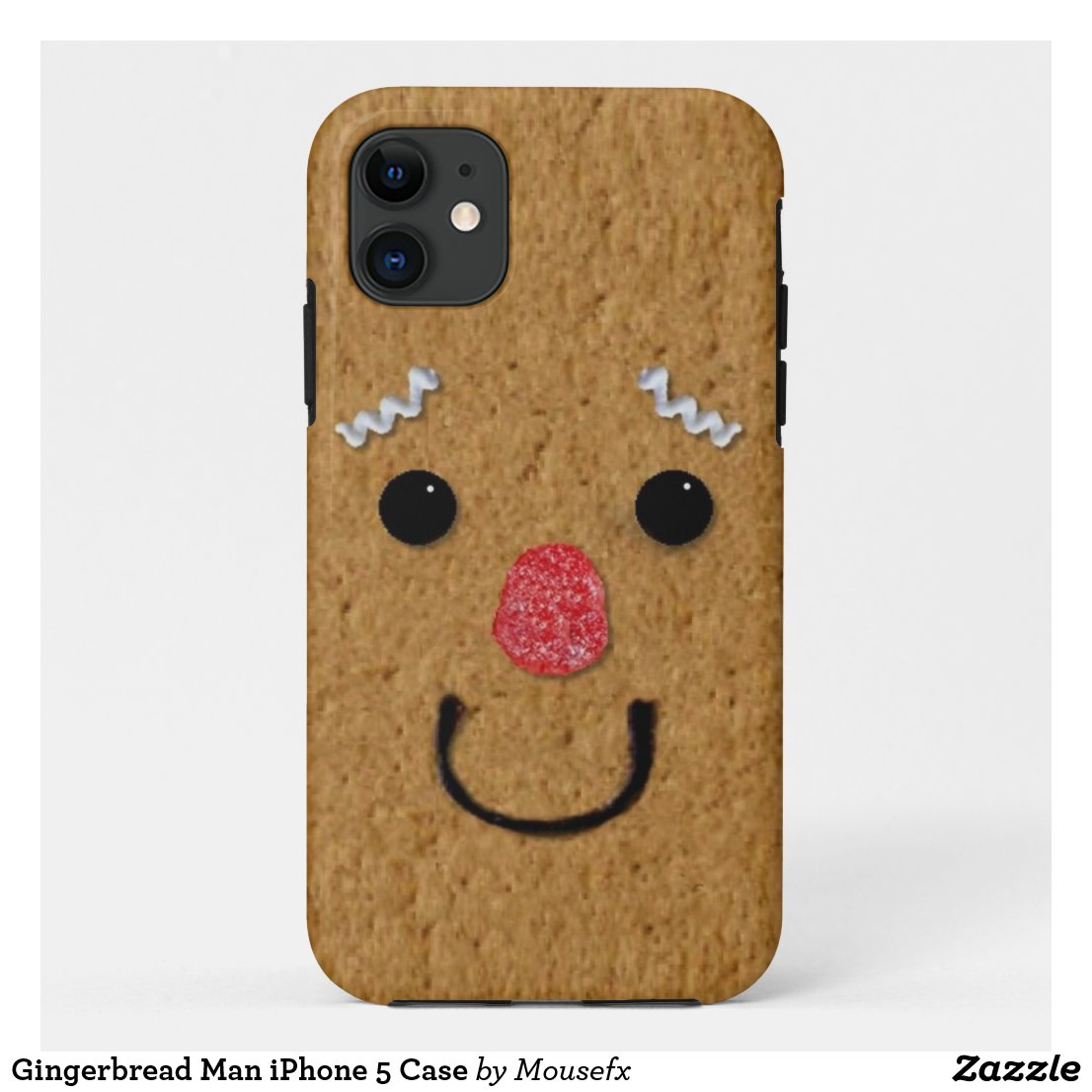 Gingerbread Man iPhone 5 Case