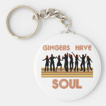 Gingers have Souls Train Keychain
