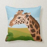 Giraffe Pillow | Zazzle